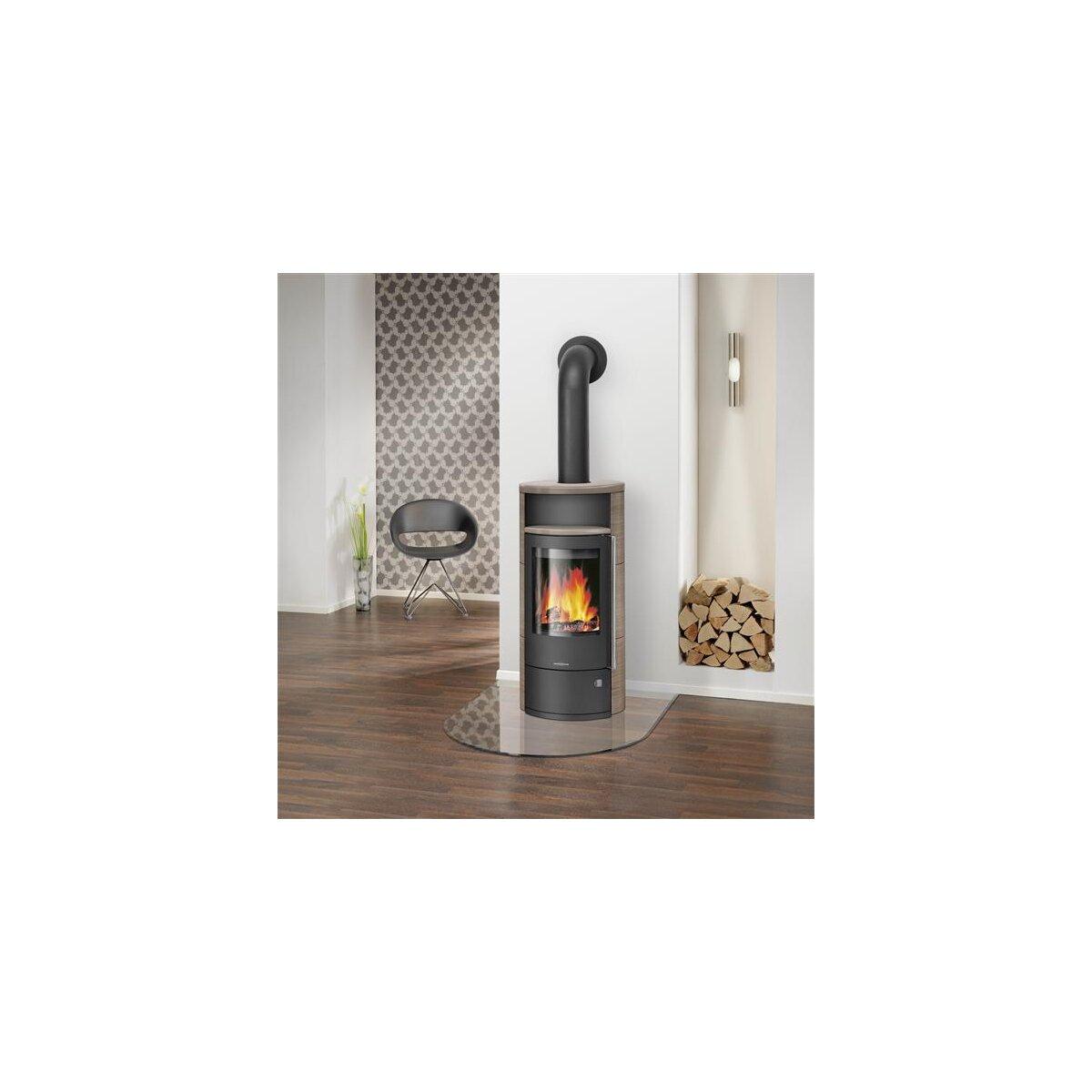 kaminofen oranier polar neo 4 5 kw online kaufen feuer. Black Bedroom Furniture Sets. Home Design Ideas