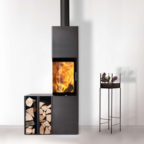 kaminofen austroflamm slim 2 0 4 kw online kaufen feuer fuchs. Black Bedroom Furniture Sets. Home Design Ideas