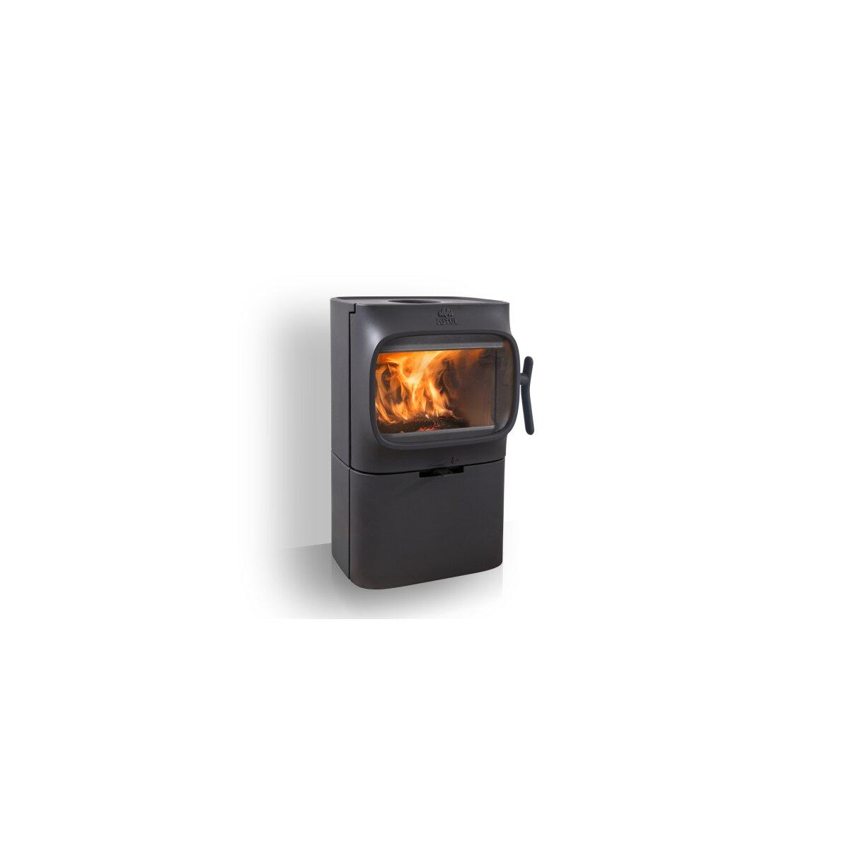 kaminofen gussofen jotul f 105 b 4 5 kw mit sockel. Black Bedroom Furniture Sets. Home Design Ideas