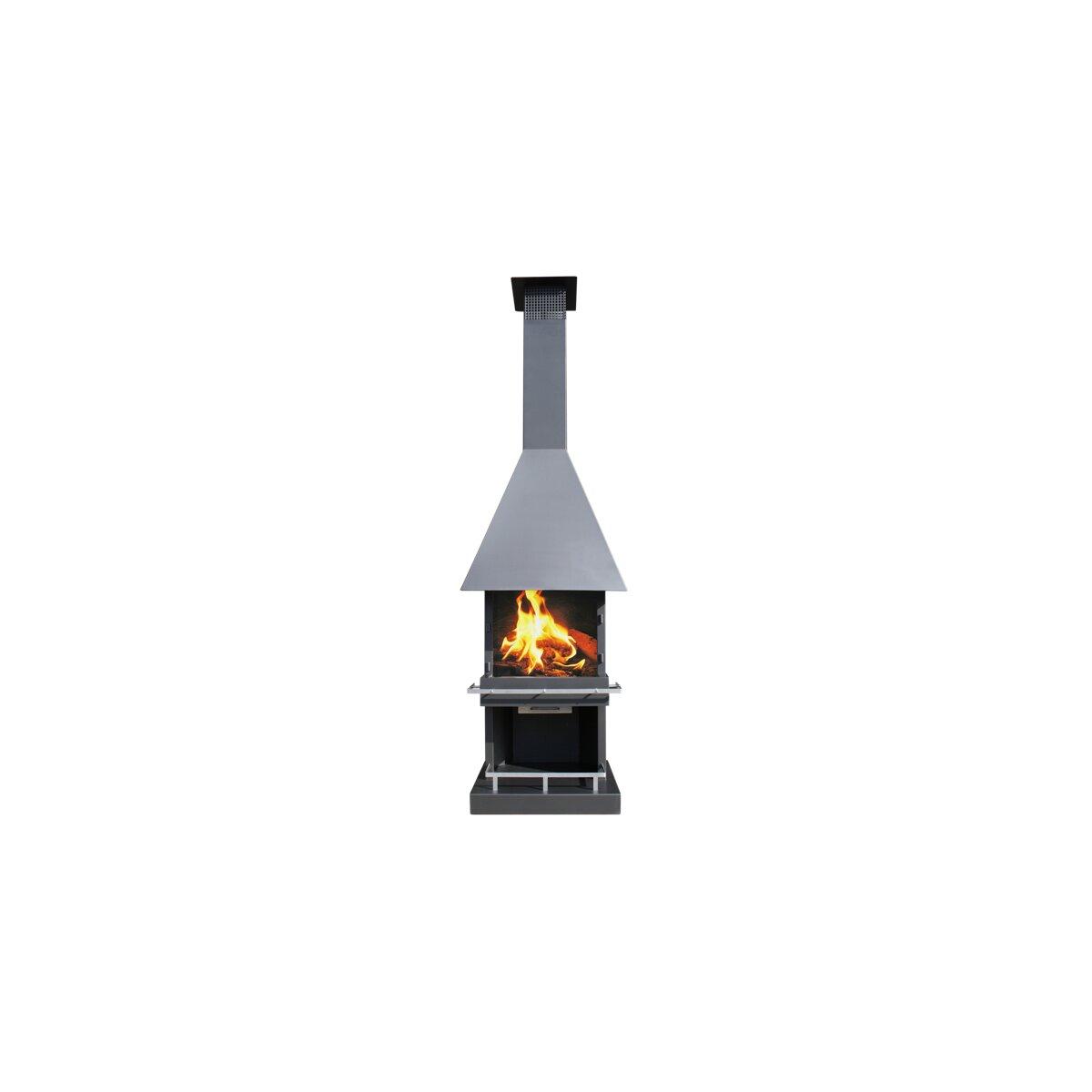 gartenkamin/ grill firestar cube classic, 2.039,00 € von karl