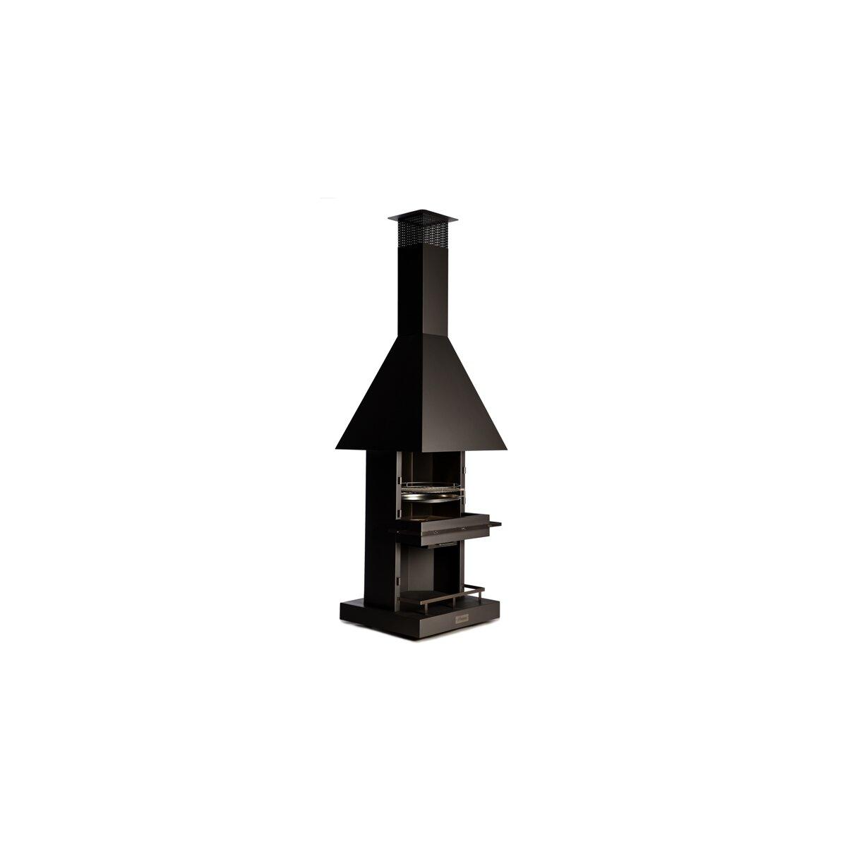 gartenkamin grill firestar cube classic. Black Bedroom Furniture Sets. Home Design Ideas