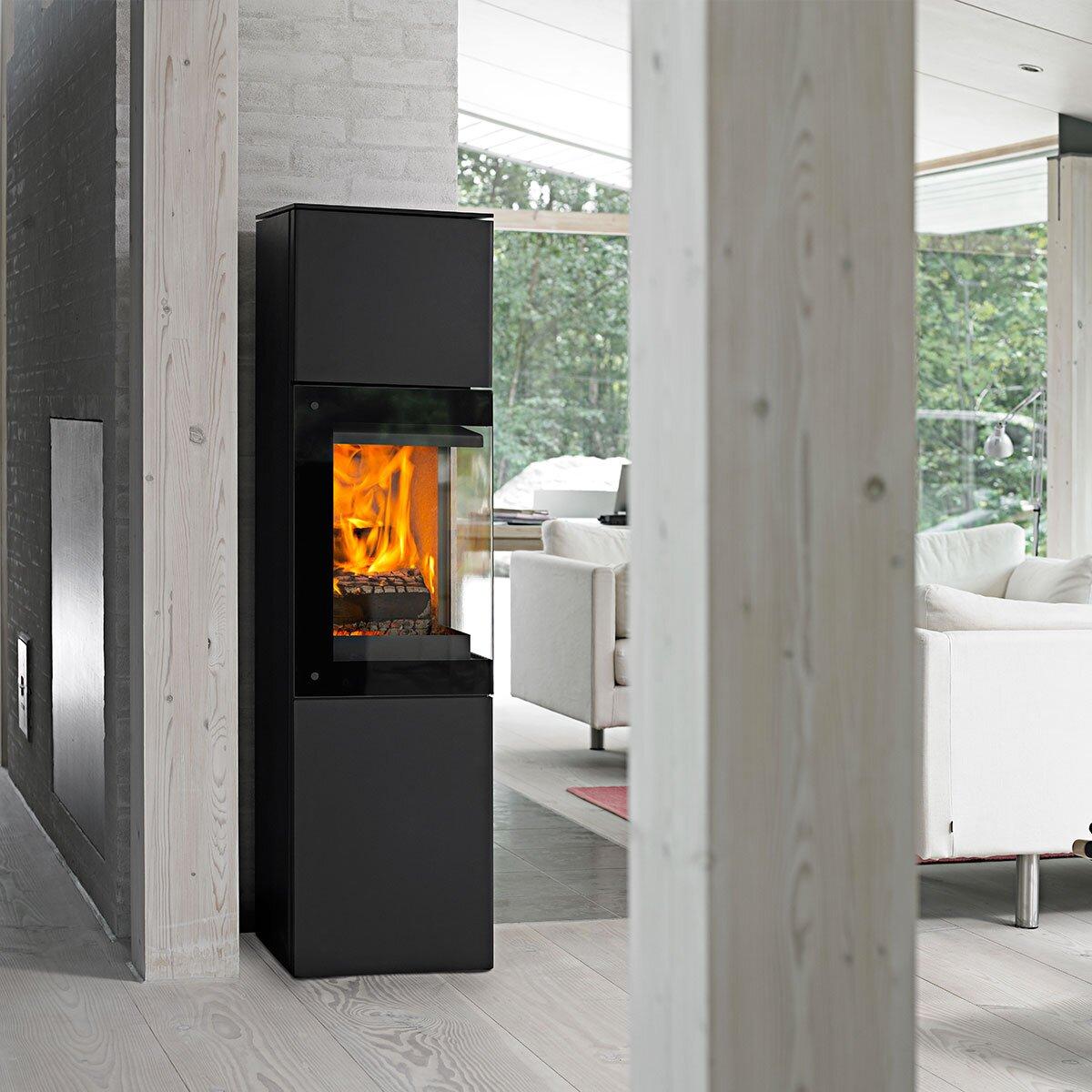 kaminofen jydepejsen panorama online kaufen feuer fuchs. Black Bedroom Furniture Sets. Home Design Ideas