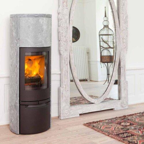 kaminofen jydepejsen cosmo 1500 speckstein kaufen feuer fuchs von jydepejsen a s. Black Bedroom Furniture Sets. Home Design Ideas