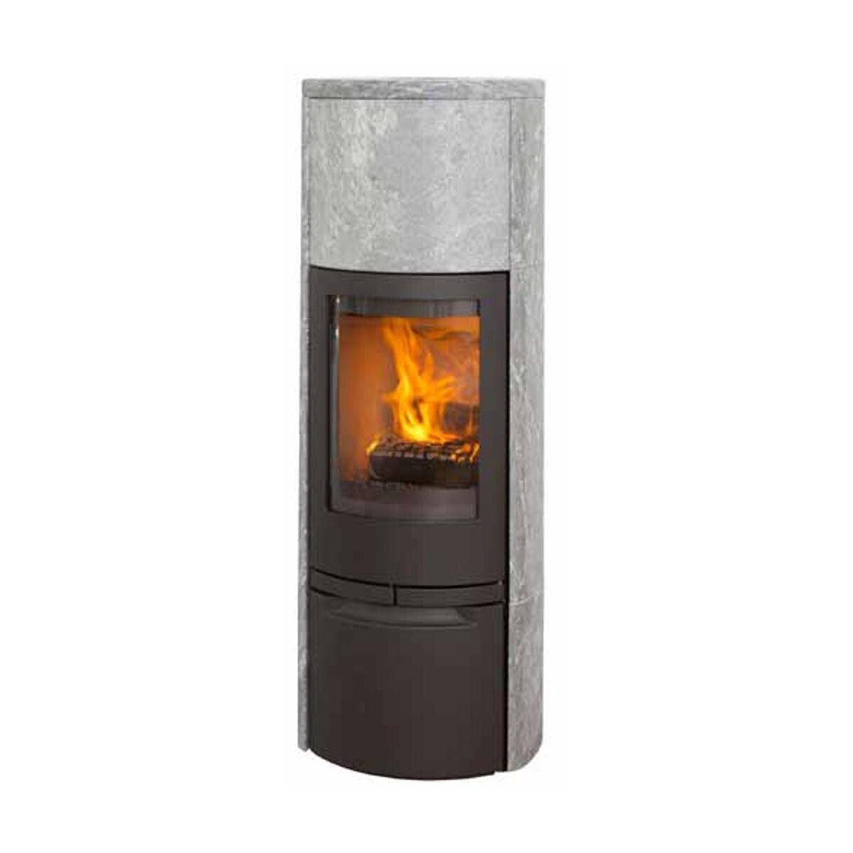 kaminofen jydepejsen cosmo 1500 speckstein schwarz von jydepejsen a s mit. Black Bedroom Furniture Sets. Home Design Ideas