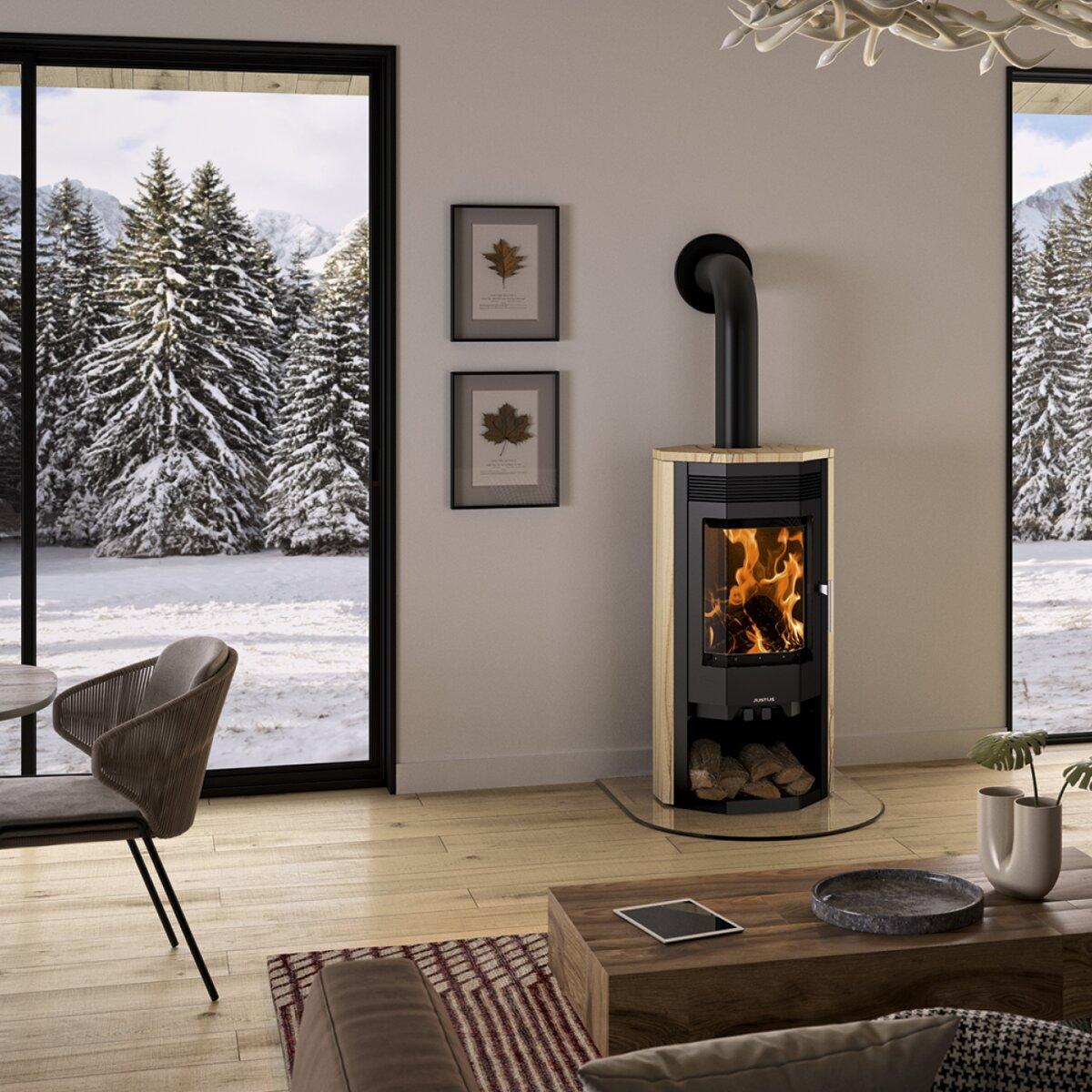 kaminofen justus usedom 7 7 kw 969 00 von justus mit beratung g nstig online kaufen. Black Bedroom Furniture Sets. Home Design Ideas