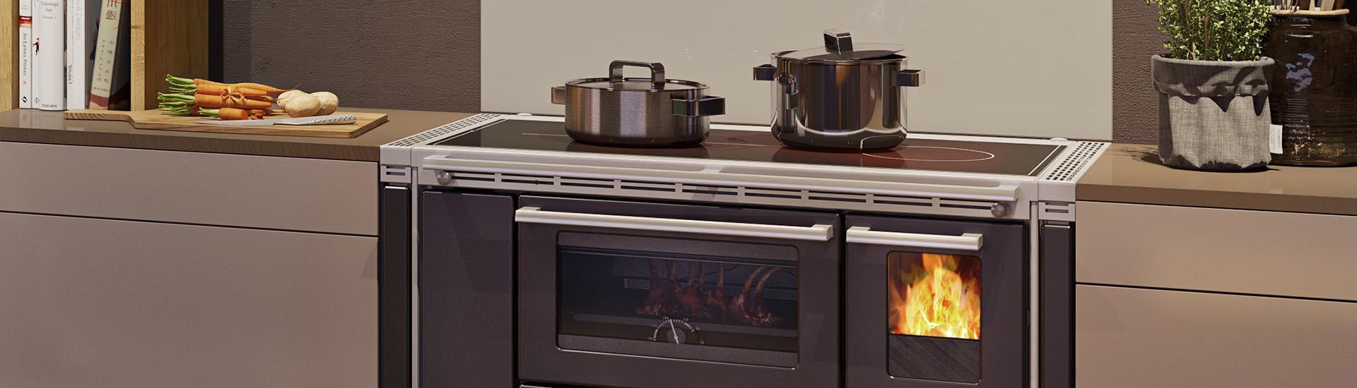 Küchenherd & Holzherd: Kochen und dabei heizen