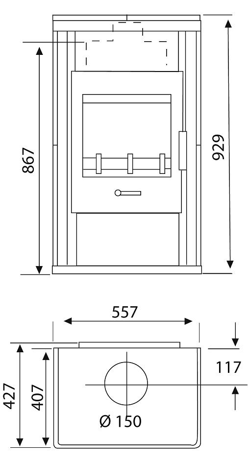 kaminofen wamsler galaxy naturstein 6 5 kw gussgrau. Black Bedroom Furniture Sets. Home Design Ideas